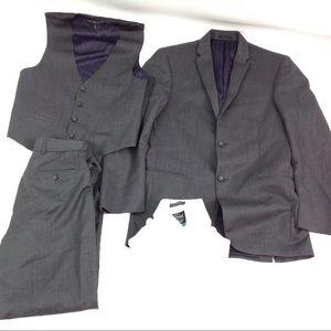 Michael Kors Men 4 Piece Suit Pant Blazer Shirt